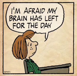 Peppermint Patty Brain